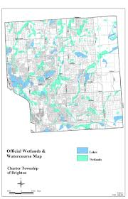 Michigan Township Map by Code Of Ordinances Brighton Township Mi