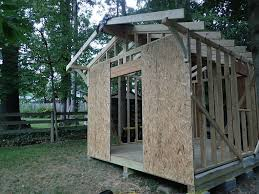 How To Build A Garden Shed From Scratch by Building A Complete Diy Workshop 8 Steps With Pictures