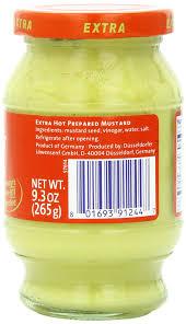 lowensenf mustard lowensenf mustard in jar hot 9 3 ounce