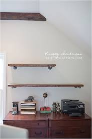 Galvanized Pipe Shelving by 8 Best Shelving From Pipe Images On Pinterest Galvanized Pipe