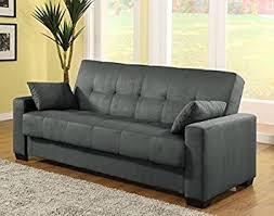 amazon com pearington mia microfiber sofa sleeper bed u0026 lounger