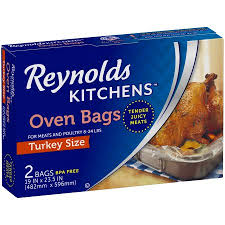 bags for turkey kitchens turkey size oven bags 2 ct box walmart