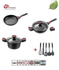 batterie cuisine induction manche amovible agréable batterie cuisine induction manche amovible 3 pradel