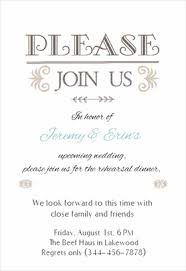 wedding rehearsal dinner invitations templates free in honor of printable invitation template customize add text