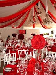 red and white table decorations for a wedding red and white wedding colors you say red weddings pinterest