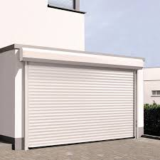 Residential Interior Roll Up Doors Roll Up Garage Doors Aluminum Automatic Insulated