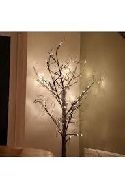 180cm warm white led snow twig tree twig trees lights