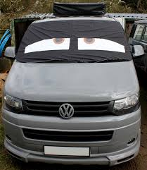 danny transporter t5 window screen curtain wrap cover frost