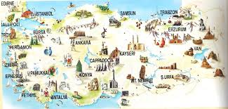 istanbul turkey map turkey the top 5 destinations activity holidays in turkey