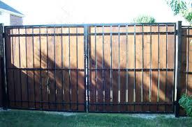 Decorative Fence Panels Home Depot by Backyard Decorative Metal Fence Panels Residential Fencing