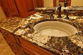Granite Countertops For Bathroom Vanities Charming Design Bathroom Sinks For Granite Countertops Master