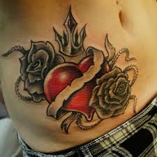 22 best heart tattoo design images on pinterest heart tattoo