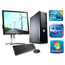 ordinateur de bureau en wifi pc bureau soldes josytal info