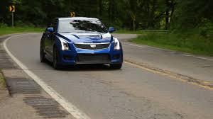 cadillac ats headlights 2016 cadillac ats v sedan review autoguide com