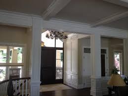 dining room indoor columns columns cantera stone limestone