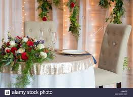 bride and groom sweetheart table sweetheart table for bride and groom stock photo royalty free image