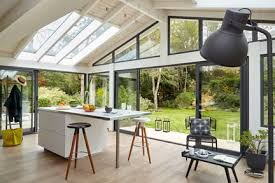 cuisine dans veranda cuisine veranda beautiful leroy merlin jardin dans photo newsindo co