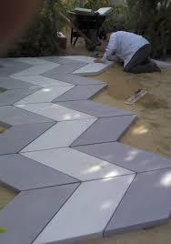 stone loves chevron paving pattern stone makes concrete pavers
