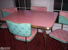 Pink Kitchen Table And Chairs LifeStyle Kitchen Table Chairs - Retro formica kitchen table