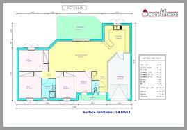 plan de maison plain pied 5 chambres plan maison moderne plain pied utoo me