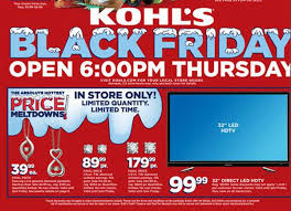 black friday kohls 2014 best black friday tv deals 2014 10 best tv sales