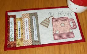 Quilted Mug Rug Pattern The Patchsmith Mother U0027s Day Mug Rugs 2014