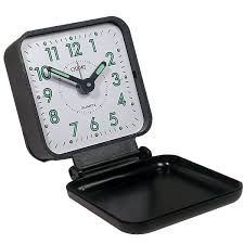 Maxiaids braille travel alarm clock