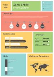 Best Infographic Resume by 30 Examples Of Creative Graphic Design Resumes Infographics