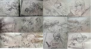 fairy tail movie sketches by frozenrain22 on deviantart