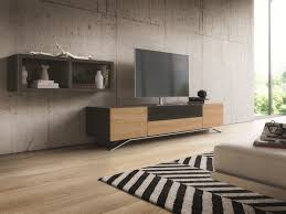 modern media console designs showcasing this style u0027s best features