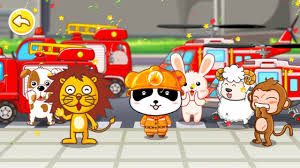 little panda fireman by baby bus game for kids free download