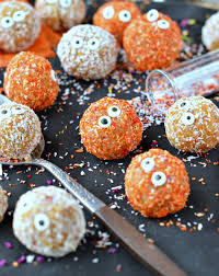 apricot balls healthy halloween treats sweetashoney