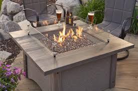 square crystal fire burner