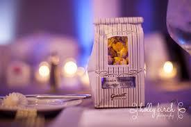Garretts Popcorn Wedding Favors by Shannon Brandon Holy Cross Ihotel Wedding Birch