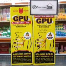 Minyak Gpu minyak urut gpu cap lang dengan minyak pala 60 ml shopee indonesia