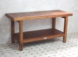 Teak Wood Bathroom Furniture Fetching Picture Of Rectangular Solid Light Oak Teak