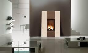 cheminee moderne design foyer à bois design insert à bois ulys 800v fondis