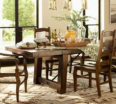 pottery barn benchwright dining table with ideas inspiration 6980