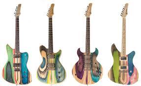 the unique guitar blog skate board guitars bowery guitars