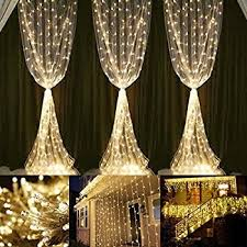 lightess curtain icicle lights 600 led string