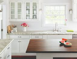 white kitchen cabinets laminate countertops laminate counters look a lot better than they did in the