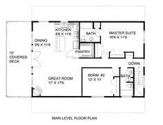 Barn Style Garage With Apartment Plans Country Barn Floor Plan Living Space Above Stalls 30x40 Garage