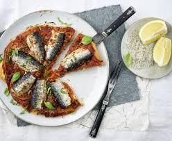 comment cuisiner des filets de sardines tarte aux filets de sardine recette de tarte aux