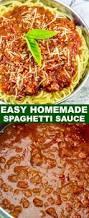 easy homemade spaghetti sauce a delicious sauce for pasta night
