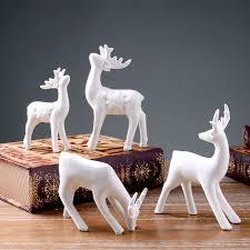 ceramic ornaments home furnishing decorative easter deer