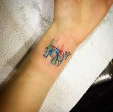 45 elephant tattoos designs on wrists