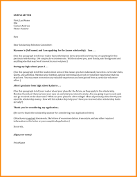 Sample Cover Letter Addressing Selection Criteria Cover Letter For Scholarships Image Collections Cover Letter Ideas