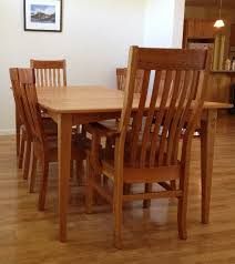 Mission Dining Room Chairs by The Mission Chair Boulder Furniture Arts