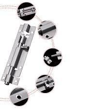 Kitchen Cabinet Safety Latches 4 6 8 Inch Stainless Steel Safety Latch Burglarproof Bolts Lock