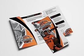 basketball c brochure template brochure templates page 205 creative market